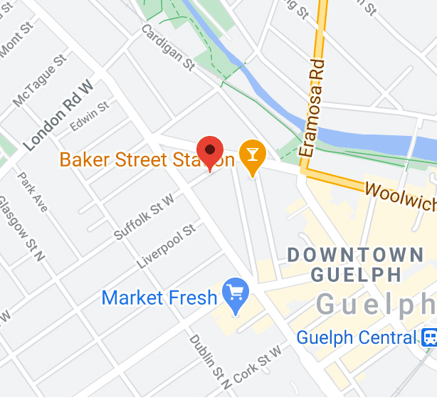 Guelph employment office location on google maps clickable link